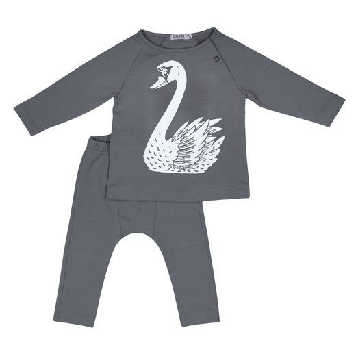 Babyset with Swan