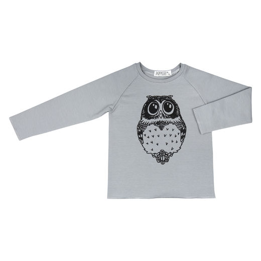 Hipster Pullover with Owl