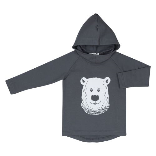 Hoodie with Polar Bear