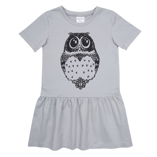 T-shirt dress with Owl